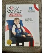 Kansas Jayhawks Childrens Portable Easy Seat Polyester Adjustable Lightw... - $19.59