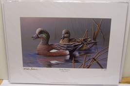 Iowa 2013/2014 Duck Stamp and Print Mike Brown Ducks Unlimited Signed St... - $28.46