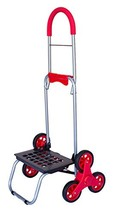 Stair Climber Mighty Max Dolly Cart, Red Handtruck Hardware Garden Utili... - $45.22