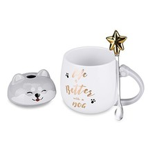 Cute Dog Mug – Life is Better with a Dog Funny Dog Ceramic Coffee Mugs... - $19.18