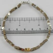 Armband Giadan aus 925 Silber mit Hämatit Glänzend und Diamanten Schwarze Made image 1