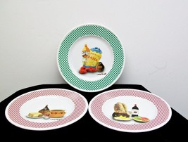"GUY BUFFET 3 Cake BREAD & BUTTER 6"" PLATES La B... - $7.65"