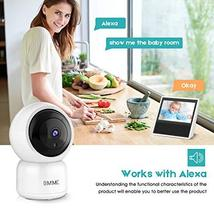 OMMC Wireless Security Camera 1080P, Baby Monitor Home IP Camera with Night Visi image 6