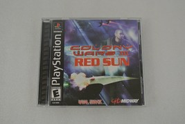 Colony Wars 3: Red Sun PlayStation Video Game 2000 Rated E 1-Player Made in USA  - $14.50