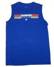 Boy's 6-16 Shirt Champion Muscle Sleeveless Tee Baseball Blue T-Shirt Sports