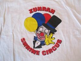 Zuhrah Shrine Circus T Shirt Size XL - $5.99