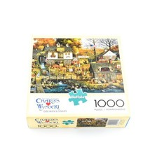 Buffalo Games Charles Wysocki Olde Buck's County 1000 Pieces Complete - $6.72