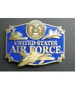 USAF US Air Force Enamel Belt Buckle 3.1 Inches Made In The USA - $16.95