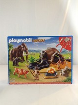New Playmobil 5087 History Stone Age Camp Mammoth Bones Building Toy Pla... - $74.79