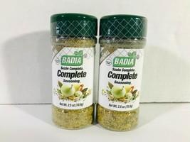 The Original Badia Complete Seasoning 2.5 oz Bottles -Two Bottle Lot Gluten Free - $8.88