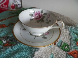 Noritake Lindrose cup and saucer 4 available - $9.50