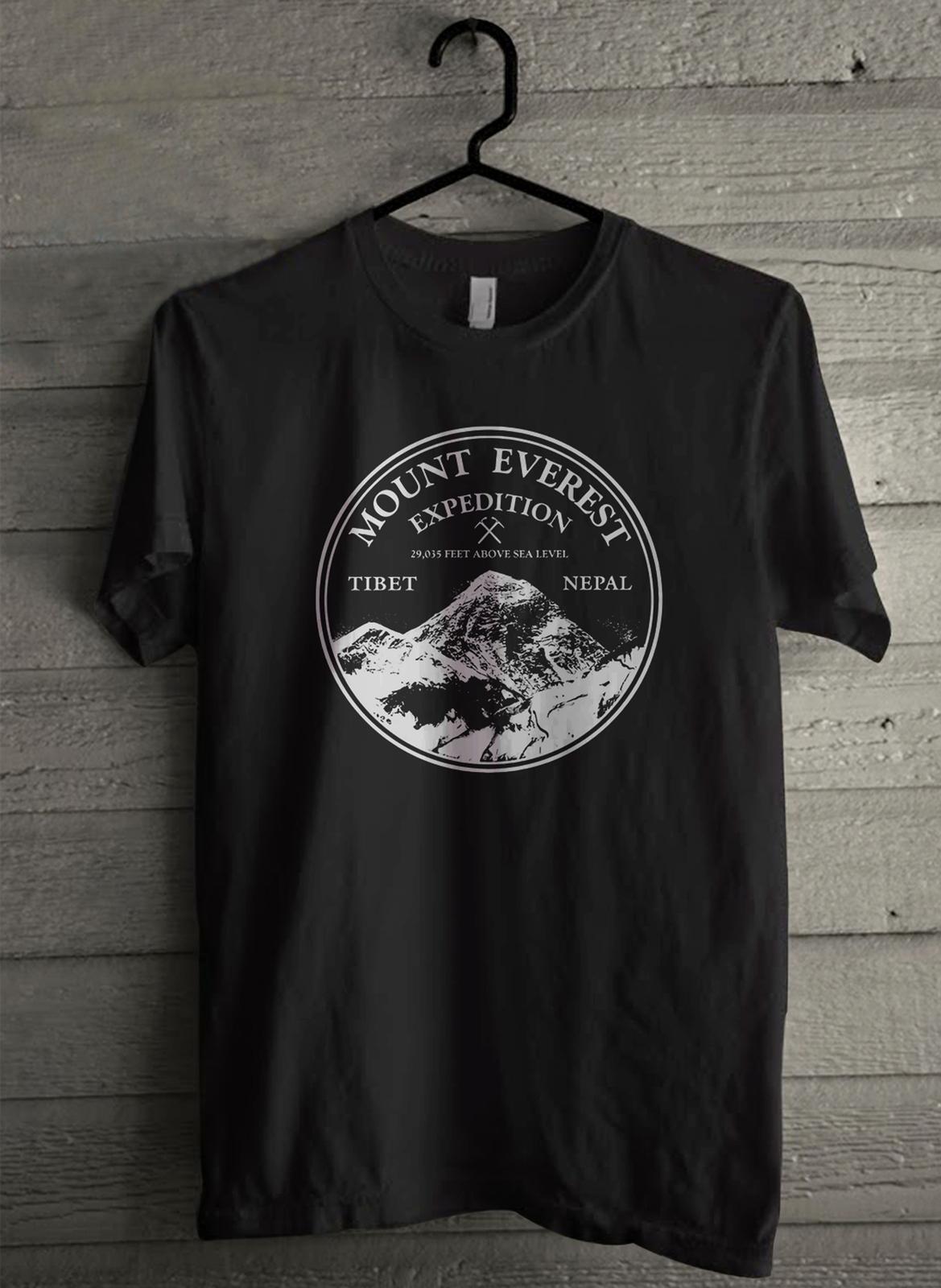 Mount Everest Expedition - Custom Men's T-Shirt (4850)