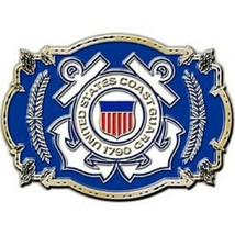 United States American USCG LOGO Belt Buckle - $18.76