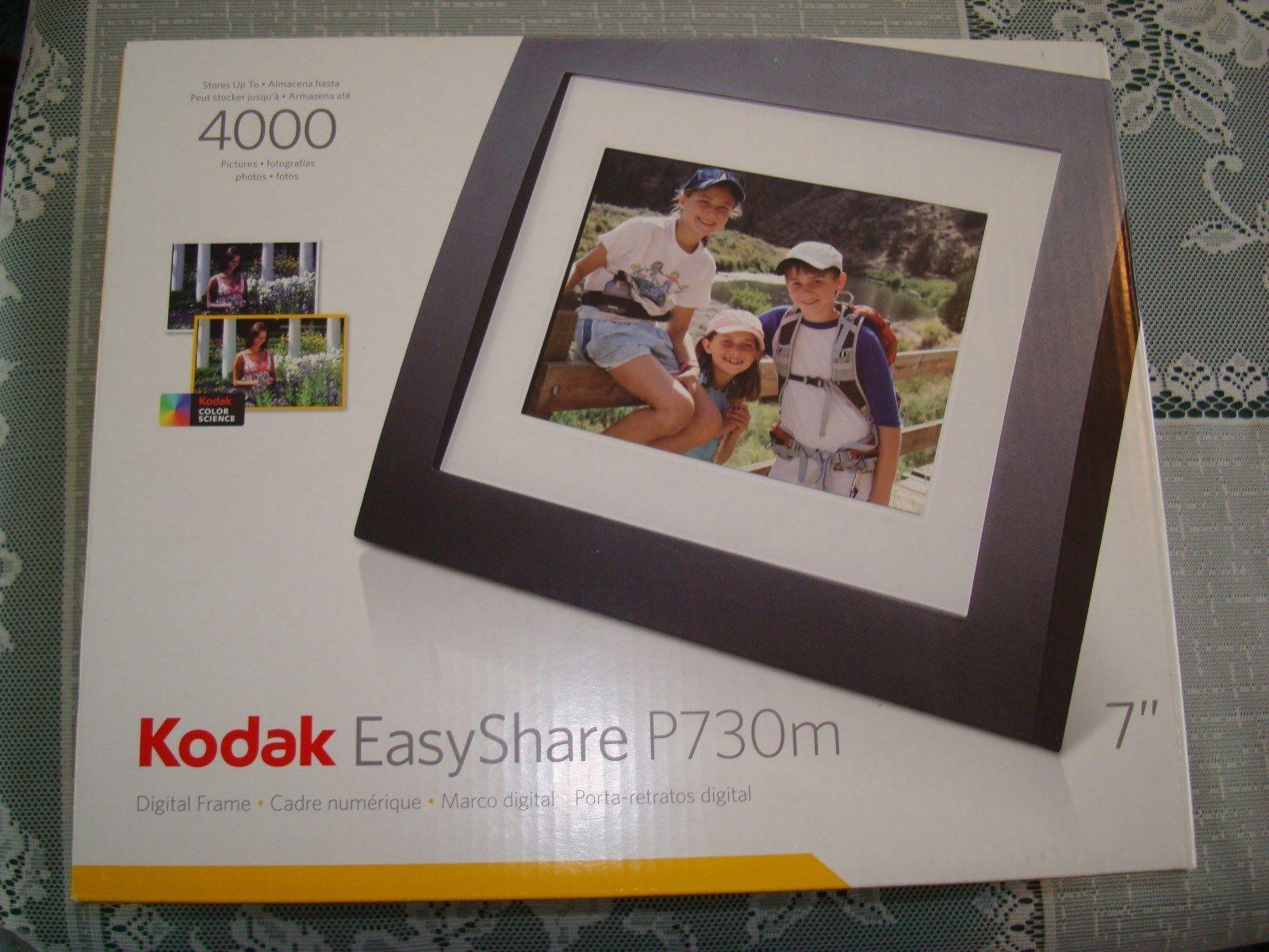 Kodak Easyshare P730M Digital Frame 7\