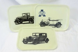 Model A Snack Trays Truck Hard Top Convertible Lot of 3 - $35.27