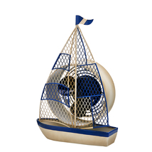 DecoBreeze Sailboat Figurine Fan - DBF5416 - $59.99