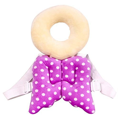 Protective Baby's Wings Head Protection Pad Headrest Angel Hat Safety Cap