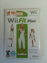 Wii Fit Plus (Nintendo Wii, 2009) Fitness Game Complete w/ Manual TESTED - $7.72