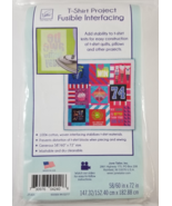 T-Shirt Project Fusible Interfacing by June Tailor - $20.25