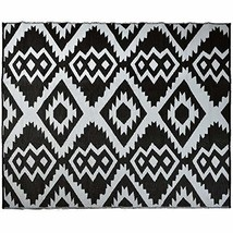 SMART DESIGN Reversible Indoor/Outdoor Plastic Rug, Fade Resistant Area ... - $82.53