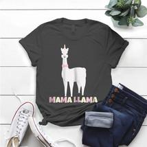 Womens Mama Llama For Women Alpaca Best Christmas Mom T- Shirt Birthday ... - $15.99+