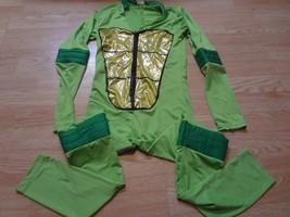 Women's TMNT S (2/4) Halloween Costume Bodysuit Teenage Mutant Ninja Tur... - $28.04
