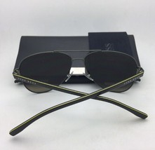 New HUGO BOSS Sunglasses 0834/S HWO3H 56-18 Dark Brown & Carbon w/Grey Polarized
