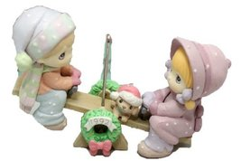Precious Moments Christmas Ornament Our First Christmas Together 1992 - $14.62