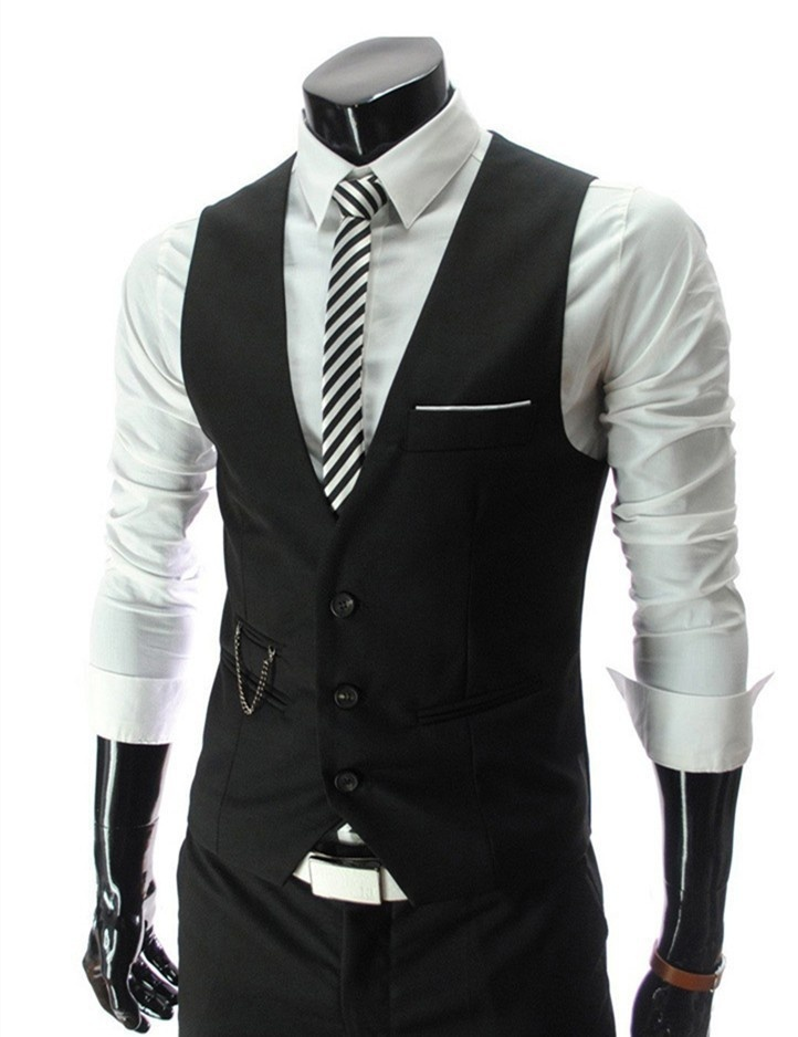 New Arrival Fashion Spring and Autumn Men Outdoor Vest Man Casual and Leisure Sl