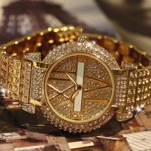 SALES Ladies Luxury Crystal Rhinestone Reloj Women Roman Scale Watch - $39.99