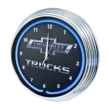 Neonetics Chevy Trucks Neon Wall Clock, 15-Inch - $999.99