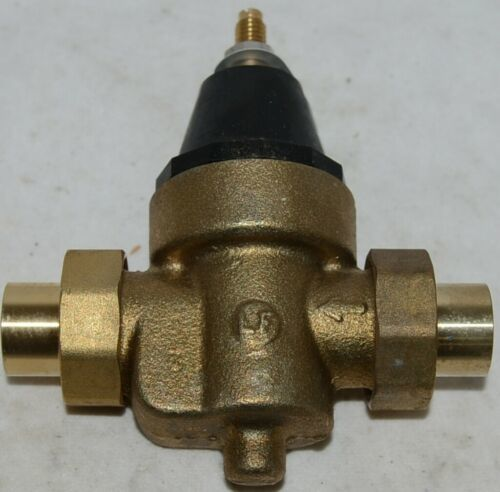 Watts Water Pressure Reducing Valve 0009481 3/4 Inch Connection