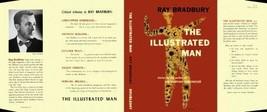 Ray Bradbury The Illustrated Man Facsímil Dust Cubierta para Nosotros Pr... - $21.55