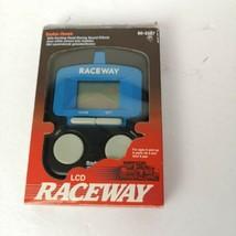 Raceway Radio Shack Handheld Electronic Game 1990 in Box QT - £39.23 GBP
