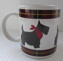 New Black Scottish Terrier Dog Collectible Large Ceramic Gift Coffee Mug - $8.79