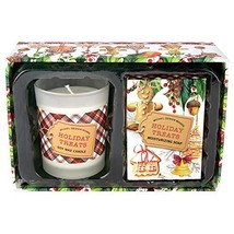 Michel Design Works Candle and Soap Gift Set, Holiday Treats - $19.43