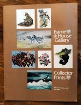 The Frame House Gallery.  Volume 11/ October 1974 Catalog - $4.00