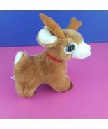 "Russ Plush Starlight Reindeer Vintage Stuffed Animal 8"" Long Eyelashes  - $26.72"