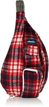 KAVU Women's Plaid Rope Bag Outdoor Backpacks, One Size, Americana - $68.10 CAD
