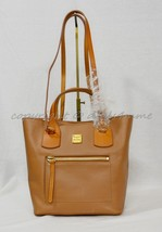 NWT! Dooney & Bourke Raleigh Small Jenny Bag in Saddle Brown Leather - $239.00