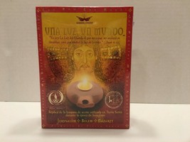 New One Light One World Ceremony Holy Land Replica Oil Lamp Genesis Visions - $17.81