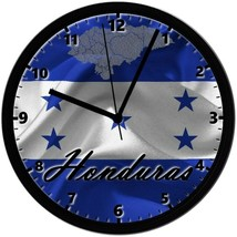 HONDURAS, 8in. Unique Homemade Wall Clock, Battery Included, Free Shipping! - $23.97