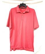 Men's Polo Ralph Lauren RLX Moisture Wicking Golf Shirt, Hot Pink, Size M - $69.30