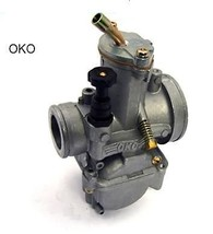 OKO D Slide 19 21 24 26 28 30 mm Carburetor Carb 90-100 5 Main Hex Jet s... - $22.35