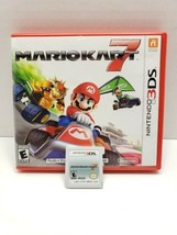Mario Kart 7 (Nintendo 3DS, 2011) Complete in Box, CIB, Tested and Working  - $14.50