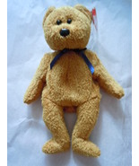 Ty Beanie Baby Fuzz Bear July 23 1998 Tag Error - $9.99
