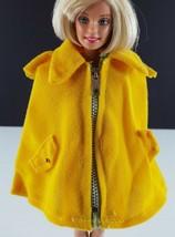 Princess Grace Maddie Mod Gold Cape 1960s Barbie Clothing - $8.90