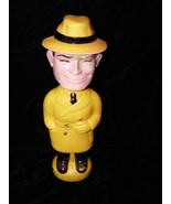 Dick Tracy Soaky Bubble Bath Containers Colgate Imco 1965 Red - $16.99