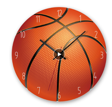 Wall clock modern design Creative 3D ball wall clock Acrylic Modern decor - $44.00
