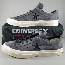 Converse X John Varvatos One Star Ox Suede Shoes Size 9.5 Mens Gray Cream - $56.09